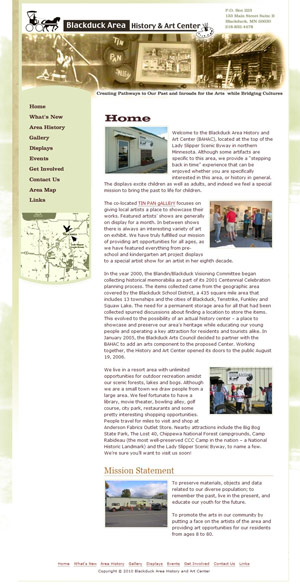 Blackduck Area History and Art Center