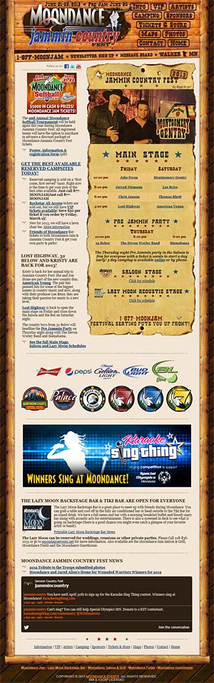 Moondance Jammin Country Fest